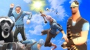 The MR BLUE SKY meme but it's a TF2 edit