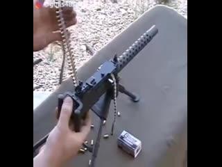 Пулемет под мелкан