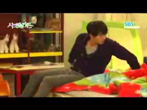 Secret Garden Behind scenes ep 20 3 children Hyun Bin Ha Ji Won