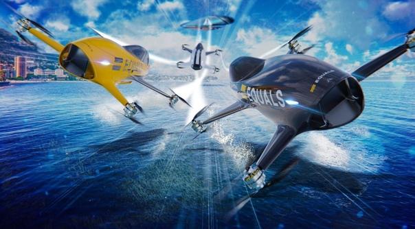 В 2020 году начнутся первые гонки пилотируемых октокоптеров Airspeeder