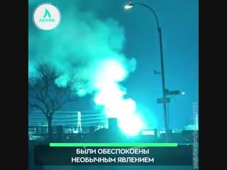 В Нью-Йорке взорвался трансформатор | АКУЛА