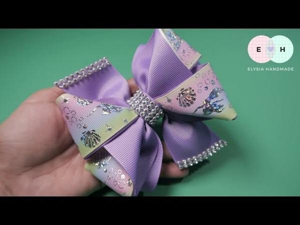 Laço De Fita 🎀 Ribbon Bow Tutorial 4 🎀 DIY by Elysia Handmade