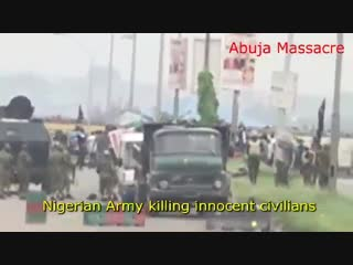 Nigerian army kill innocents abuja 2