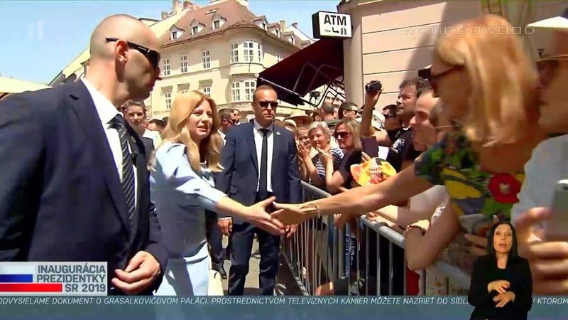 Inaugurácia prezidentky SR - v uliciach medzi ľuďmi 02 | 15.6.2019