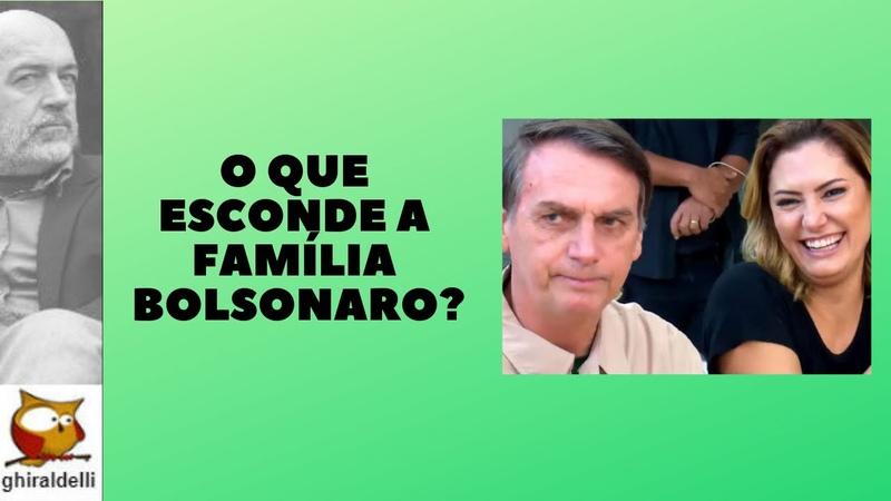 O que esconde essa família Bolsonaro?