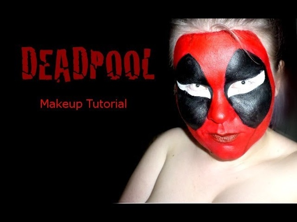 Deadpool Comic Style Makeup Tutorial