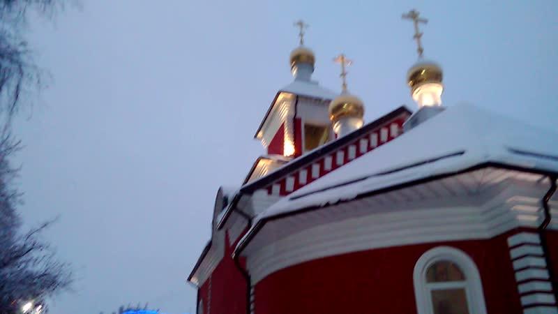 Мороз и утро и снег и покой. День памяти святителя Николая. 19.12.2018
