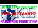 SKE 160. Kielletäänkö SKE