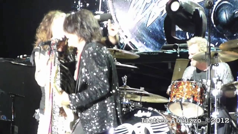 AEROSMITH - OH YEAH - New song - Live In Laval, Canada 2012 HD