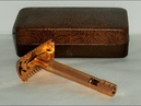 1937 Gillette Sheraton Refurbished RePlated Razor w Case and Blades 27A