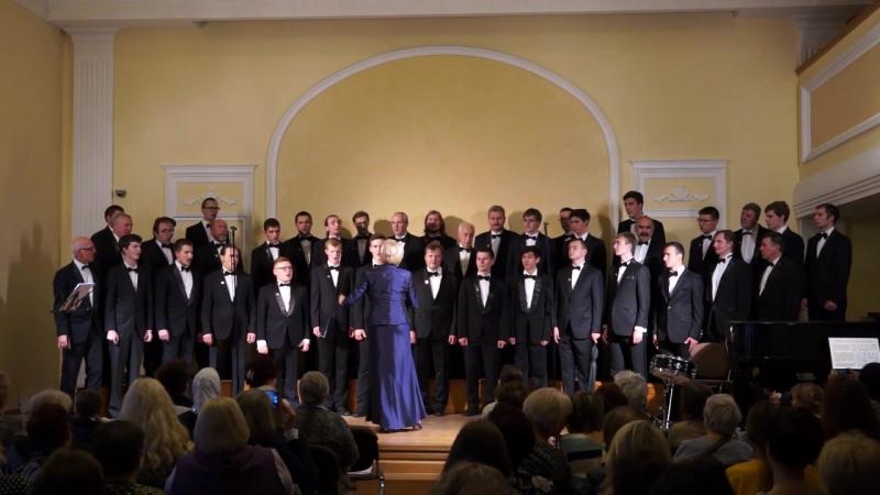 Академический мужской хор НИЯУ МИФИ. М.А. Кюсс Амурские волны (23.09.18)