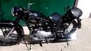 Мотоцикл ИЖ-49 1955г.в. пустил первый дымок на улице или Ёжик в тумане 2