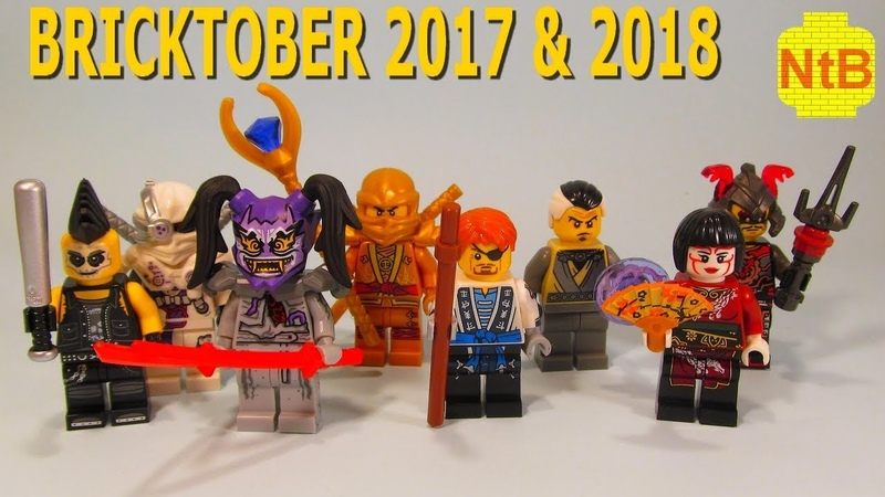 ALL BRICKTOBER NINJAGO MINIFIGURES