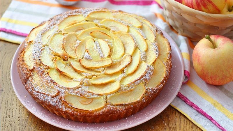 TORTA SOFFICE CUOR DI MELE 🍎- RICETTA FACILE - APPLE CAKE