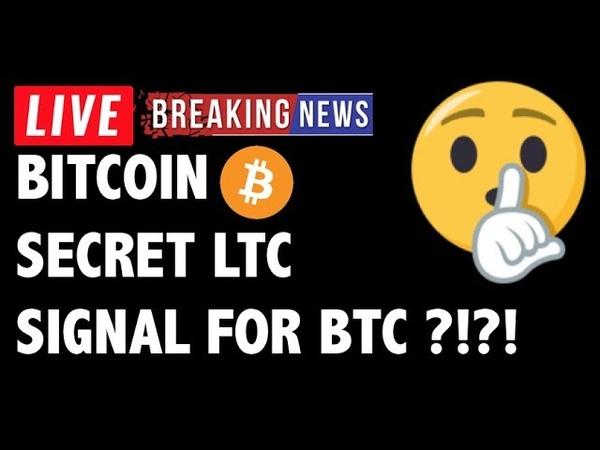 Litecoin SECRET SIGNAL for Bitcoin Price! -Crypto Market Trading Analysis BTC Cryptocurrency News