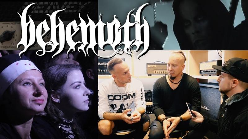 InterviewWywiad - Nergal Orion - BEHEMOTH - ESP guitar day - e-gitarzystaTV