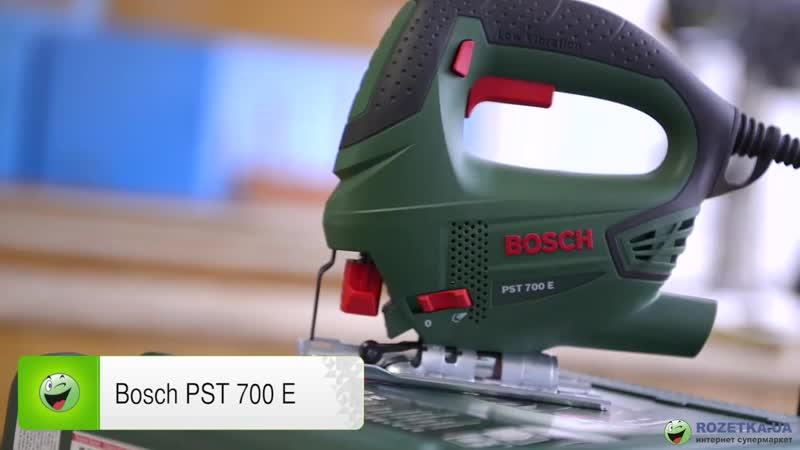 Обзор электролобзика Bosch PST 700 E
