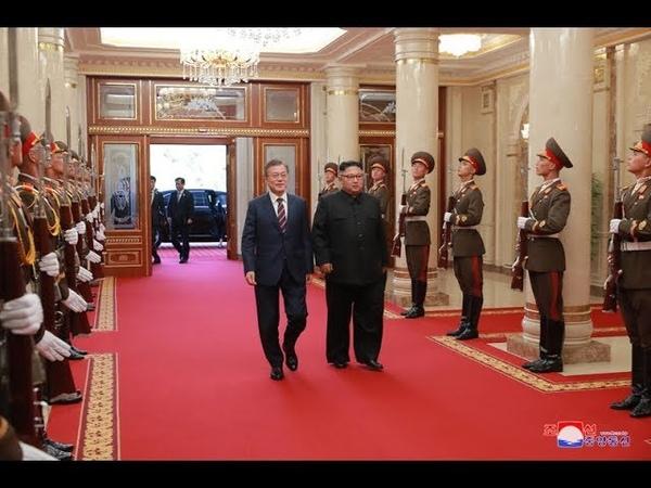 ТВ КНДР: 5-й межкорейский саммит состоялся 18 сентября в штаб-квартире ЦК Трудовой Партии Кореи [КОРЕЙСКИЙ]