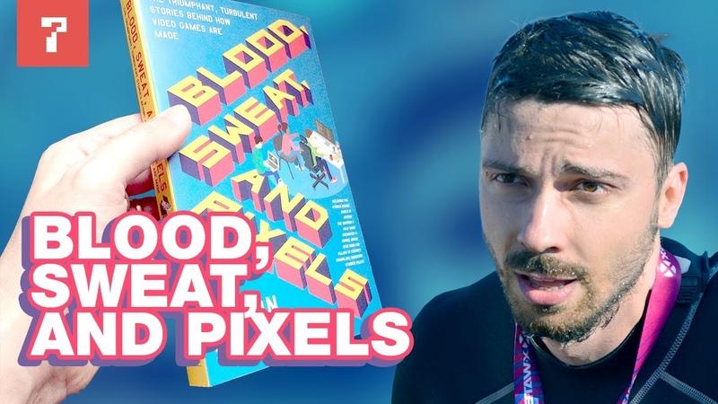 Blood, Sweat, and Pixels by Jason Schreier. Game dev book