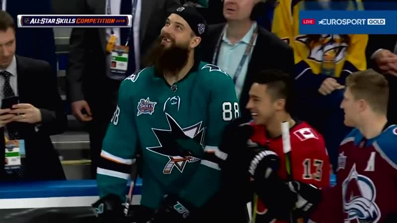 Матч всех звёзд NHL 2018, Конкурс на силу броска