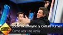 Eddie Redmayne y Callum Turner enseñan a Pablo Motos a usar una varita mágica - El Hormiguero 3.0