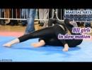 BJJ girls in slow motion