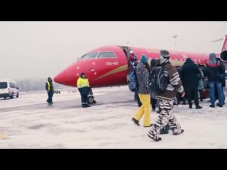 Рекламный ролик для авиакомпании Руслайн