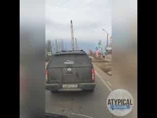 Бесконечный ремонт моста - Астрахань п.Ильинка