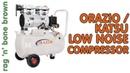 Orazio / Katsu 24l low noise CHEAP air compressor - Too Good To Be True?