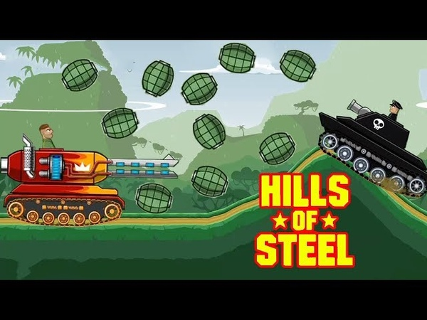 Hills of steel MAMMOTH Tank - Mobile Game for Kids - Games bii