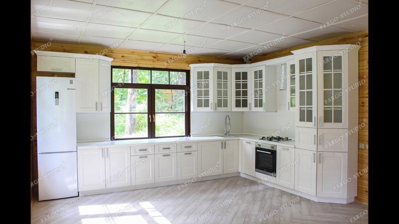 Кухня массив Скалли Бьянко (Италия) fargo-studio