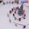 ВЕСТИ ru РОССИЯ 24 on Instagram В музее заповеднике Томская Писаница связали огромный шарф для главного Деда Мороза Кемеровской области Длин