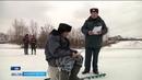 Слишком тонкий лед в Уфе спасатели предупреждают рыбаков об опасности