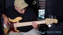 MusicForce Lakland Skyline 55 60 Vintage J Bass Demo by Bassist '김민석' Minseok Kim