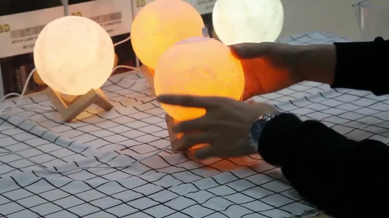 Новый 880 мл Увлажнитель Воздуха 3D Луна свет лампы диффузор аромат эфирные масла USB Ультразвуковой Humidificador.