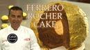 The Cake Boss's HUGE Ferrero Rocher Cake | Cool Cakes 15