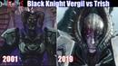 DMC 5 Dante Meeting Black Knight Vergil Trish Nelo Angelo DMC1 vs DMC5 Devil May Cry 5 2019