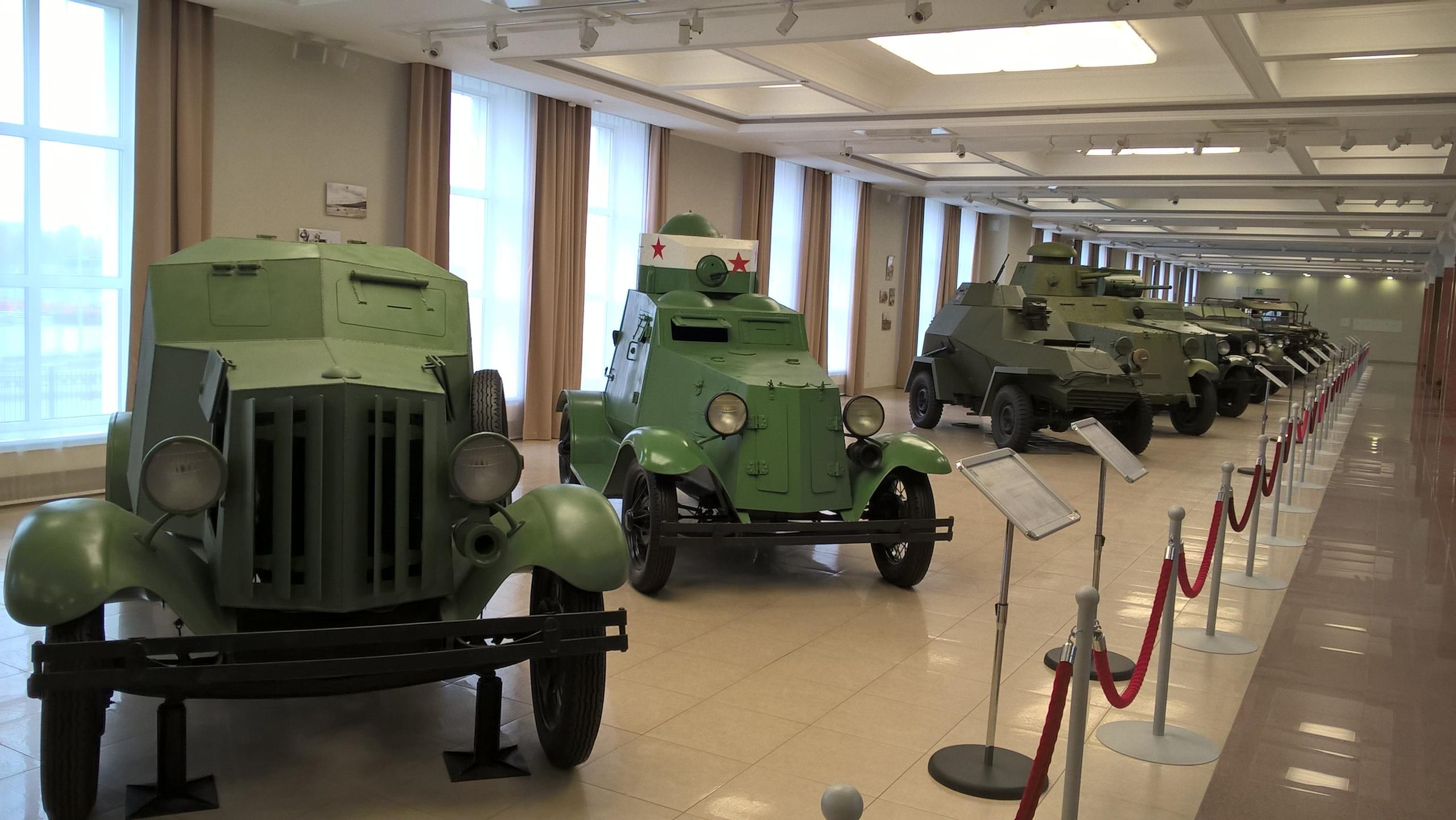 Боевые машины 1920-30-х годов