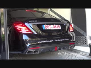 BRABUS 850 S63 AMG 6.0 V8 Biturbo - Start up, Revs, Accelerating