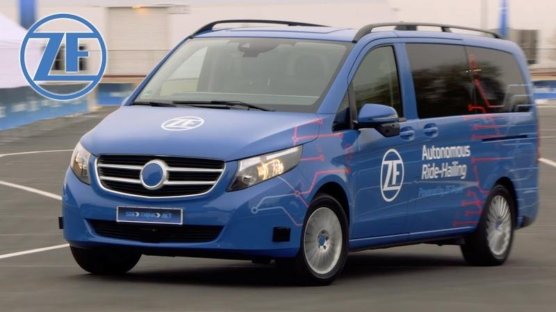 ZF Autonomous Ride-Hailing Service Demonstration at CES 2019