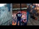 Фрагменты выступления рок группы Чёртова ДюжинаТорез
