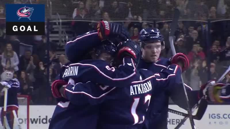 НХЛ(18-19). Пятидесятая результативная передача Артемия Панарина в сезоне 2018-2019.