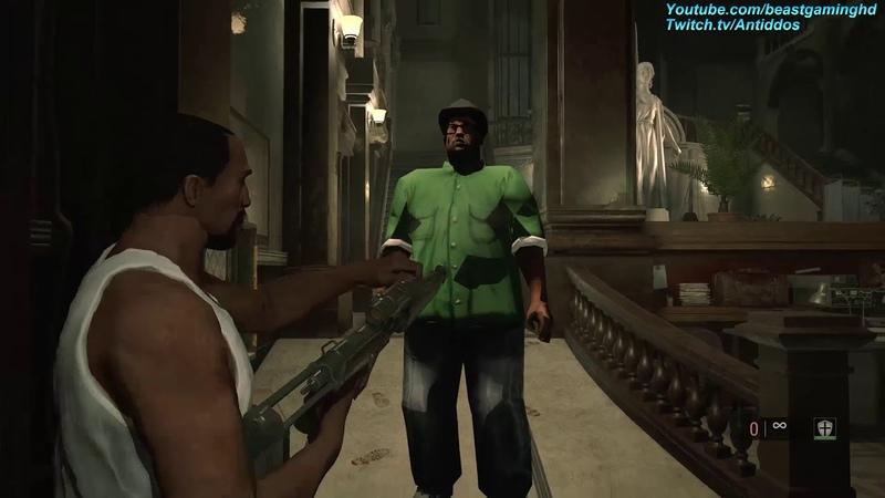 Resident Evil 2 Remake GTA CJ Meets Big Smoke MOD *read desc*