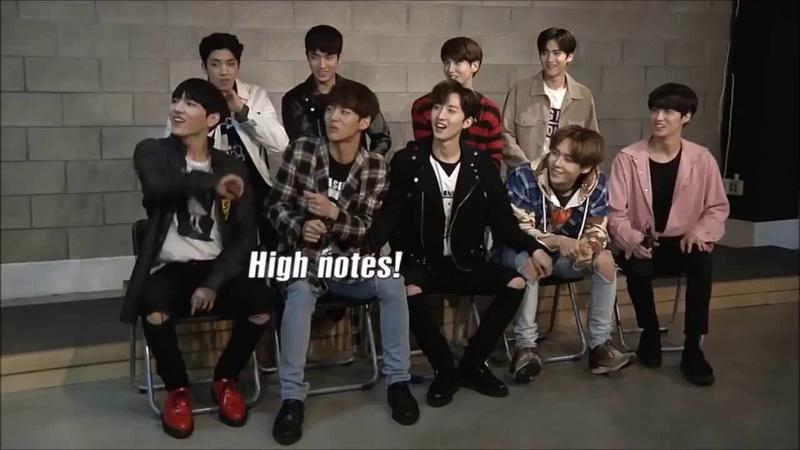 Jinho's high note