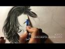 Touch pencil work , stetdler 6B 4B H cotton stick