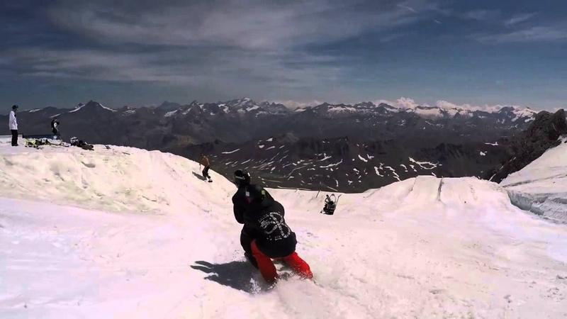 Первый в мире бэкфлип-сальто на лыжах ВТРОЁМ