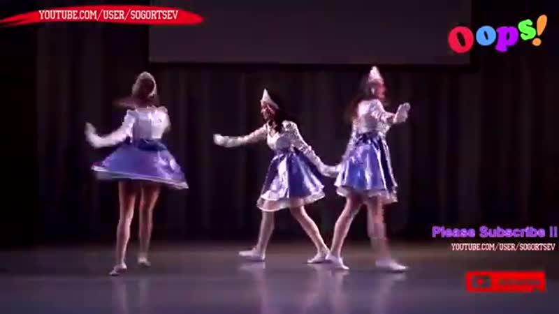 Good Russian Girls folk dance OOPS - Ванечка