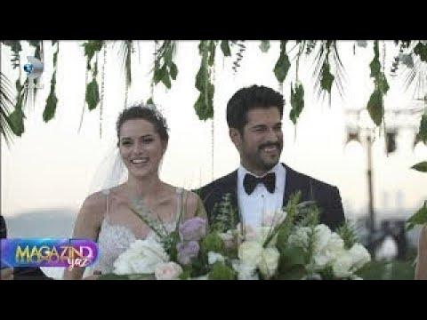 Burak Özçivit Fahriye Evcen evlendi Magazin D YAZ 30 Haziran 2017
