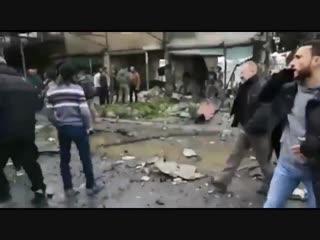 Взрыв в Африне, много раненых и убитых, не известно гражданских или боевиков.