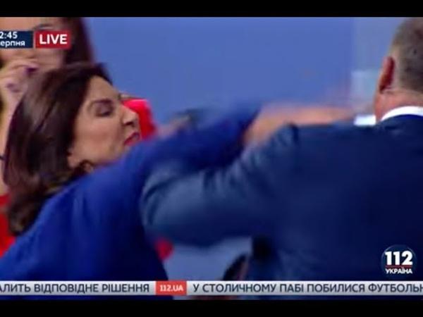Позор! Тимошенко ИЗБИЛИ в прямом эфире при всех ! Газовая Аферистка